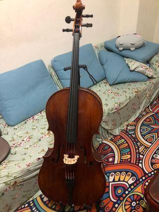 🚚 Cello大提琴(4/4)音樂班用琴(德國琴)工作室琴