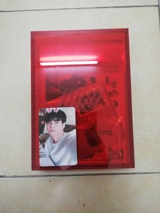 IKON NEW KIDS REPACKAGED ALBUM AND PHOTOCARD