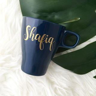 Personalised Mug cup personalised gift wedding bridesmaid gift bridal shower party favours birthday gift farewell gift