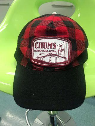 Chums cap made in USA
