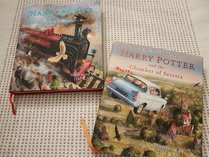 🚚 Harry Potter: Illustrated Version