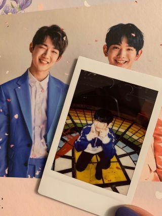 🚚 hyungseob x euiwoong real polaroid + album