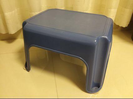 矮凳子 small chair 茶几仔 Blue 藍色