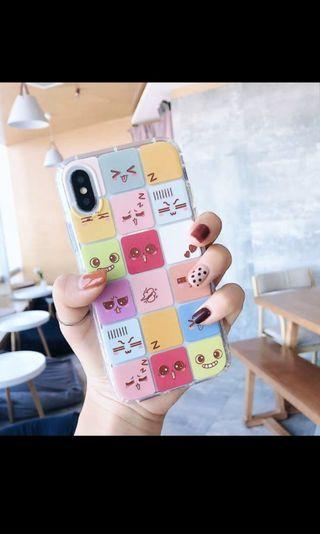 Smiley cubes samsung s9 soft phone case cover protector