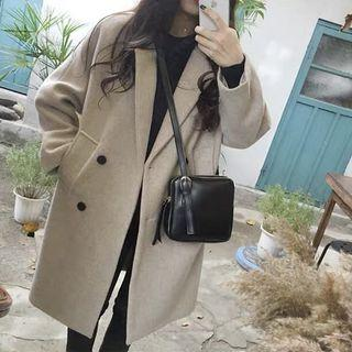 Brand new beige winter long coat