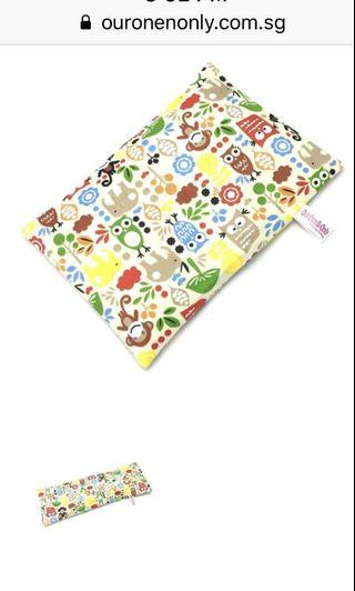 BN SEALED Authentic OurOne&Only Baby Bean Husk Pillow