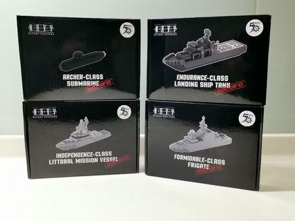 RSN Singapore Navy lego typebrick ship set
