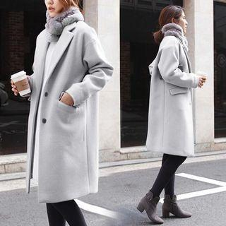 Brand new grey winter long coat
