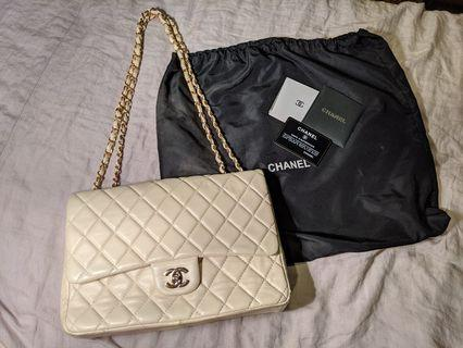 🚚 Chanel Inspired Classic Large - Ivory Colour