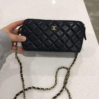 Chanel 2 compartment bag