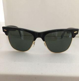 •RARE FIND•Vintage RAY-BAN W1272 WAYFARER MAX Sunnies BLACK