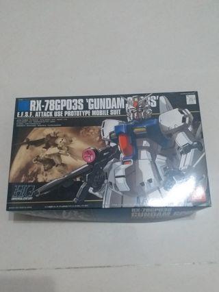 未砌 HG Gundam 高達 GP03 S 0083