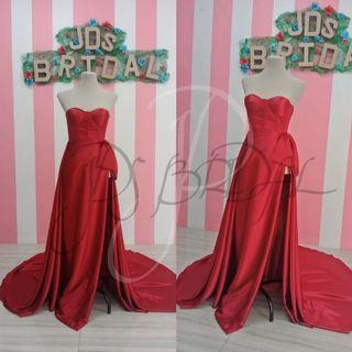 Elegant Long Gown (made to order)