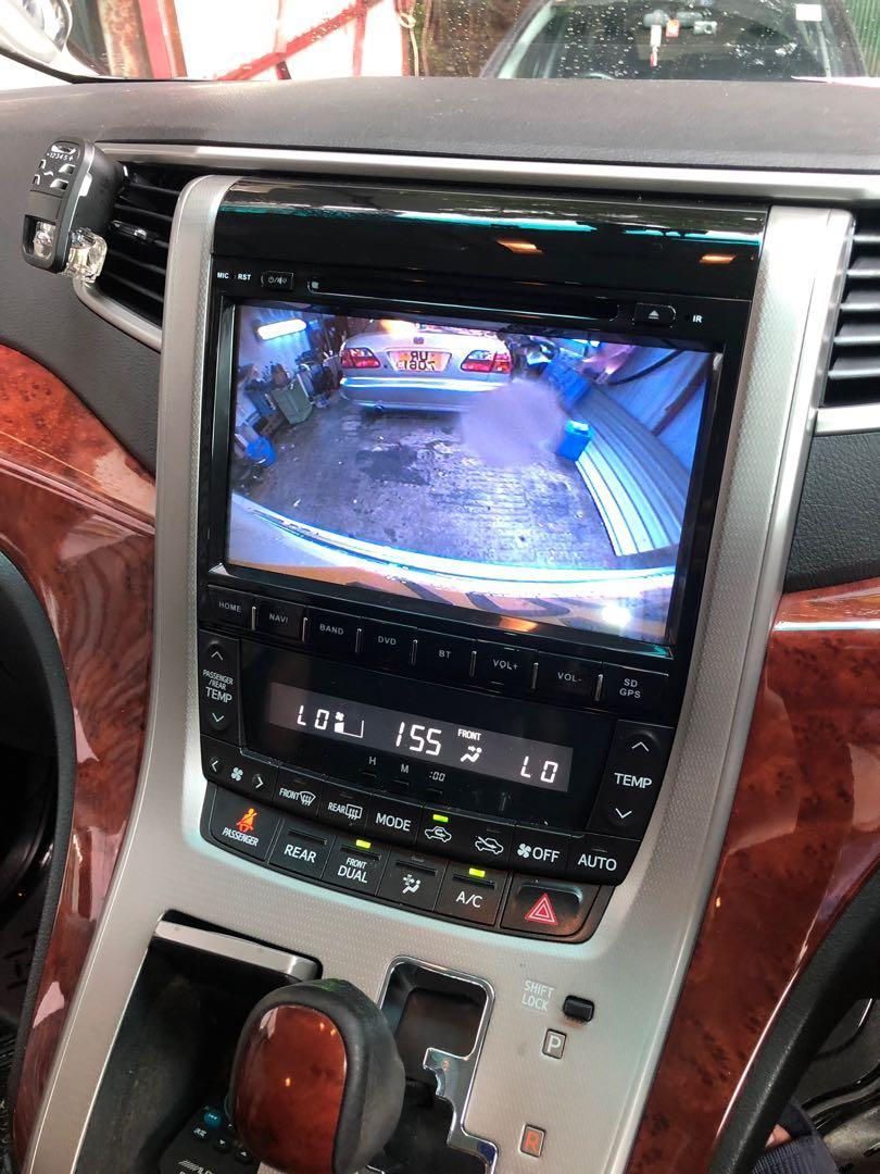20系Alphard 改安卓車機 2+32G (可插usb/藍牙/dvd/WiFi)