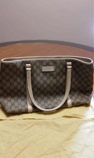 Gucci monogram tote bag