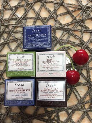 Fresh Face Cream Series