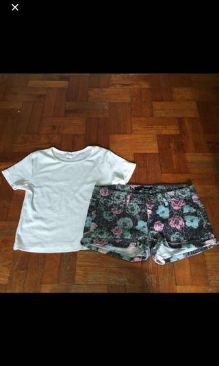 [4 for $10] Tally Weiji floral shorts