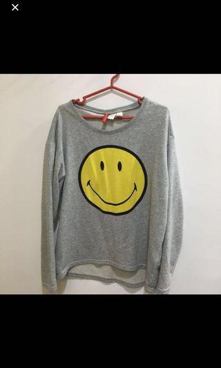 [4 for $10] H&m smiley sweater