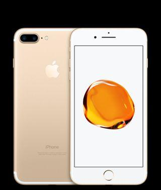 Brand new Iphone 7+ 32gb gold