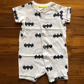 H&M蝙蝠俠短袖連身衣