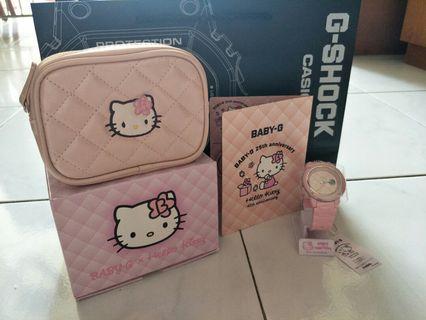 Baby-G 25th x Hello Kitty 45th Anniversary
