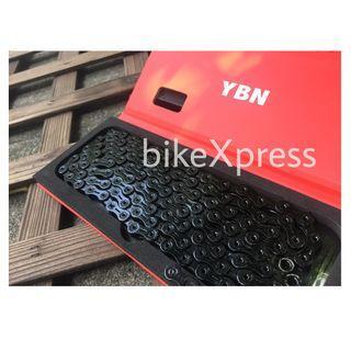 YBN SLA Super FULL BLACK Series ( 11 Speed ) Superior Lubricating Aid Series
