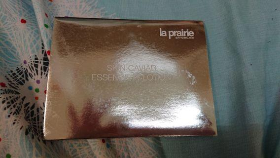 LA prairie Silk in Lotion trial pack contains three packs of silk in lotion @1ml