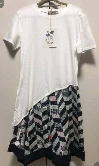 BNWT RC Lady tee shirt dress
