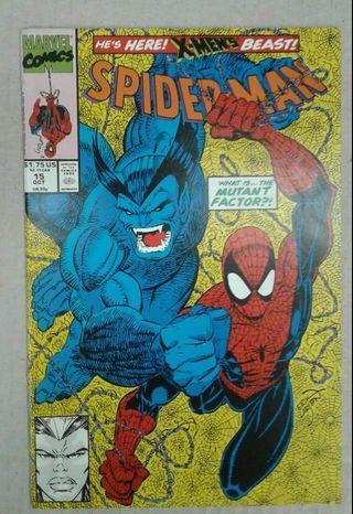 Spiderman #15 (♡ 1st app PowerHouse) Marvel Comics