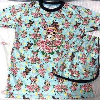 $12.90* Mailed Brand New Tokidoki x Ashlyn Anne Sleepwear Set Adult Small Size M