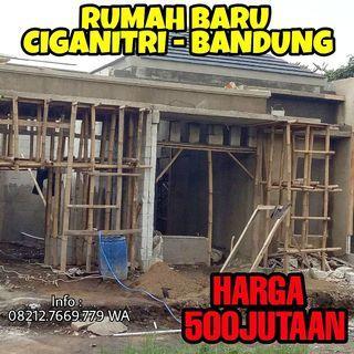 Rumah Baru Murah Ciganitri Bandung Hanya 500Jutaan