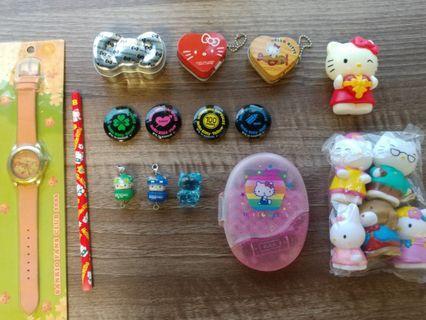 Sanrio Hello Kitty公仔文具精品 set