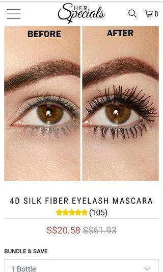 🚚 4D Silk Fiber Eyelash Mascara
