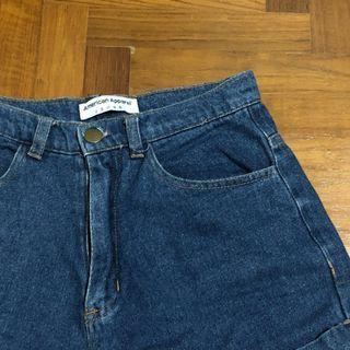 🚚 AA dark denim shorts
