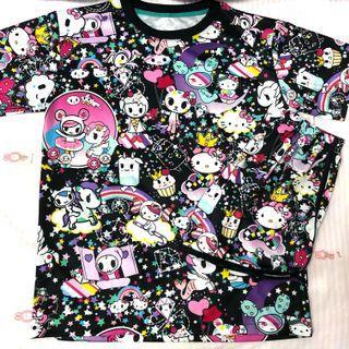 $12.90* Mailed Brand New Tokidoki x Hello Kitty Sleepwear Set Adult Small Size M