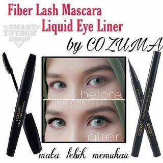 Mascara & eyeliner