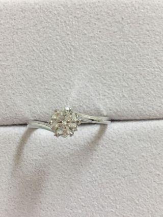 GIA天然鑽石單顆50分白又閃 視覺效果7.80分