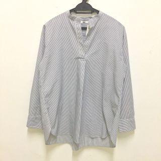 Uniqlo Stripe blouse (New)