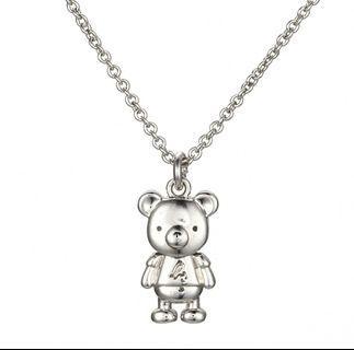 Agnes b 小熊項鏈