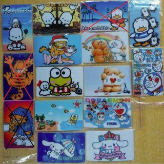 (1Q1) 卡通貼紙 八達通貼紙 Octopus Sticker