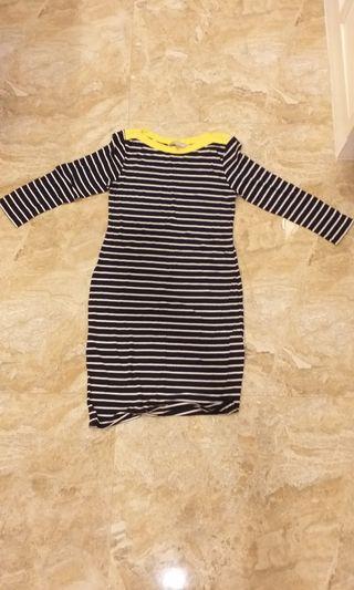 stripe dress #onlinesale