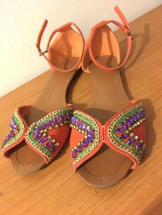 🚚 Sandal with sequins