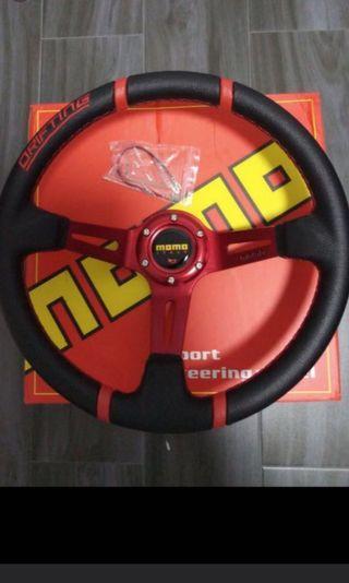 "MOMO 14"" Deep Dish Steering Wheel - BNIB"