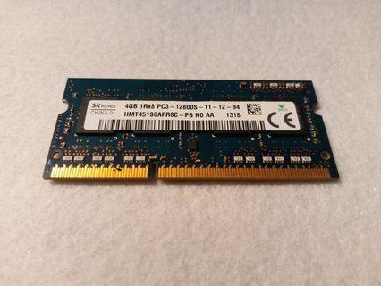 Sk hynix 4GB 1Rx8-12800S