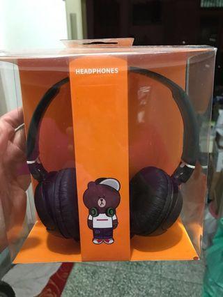 雄大造型頭戴式耳機