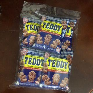 Teddy Bear Chocolate Biscuit