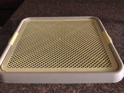 Dog / puppy Pee toilet pan / tray