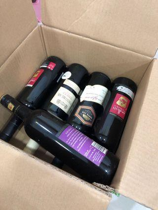 🚚 5 red wines!