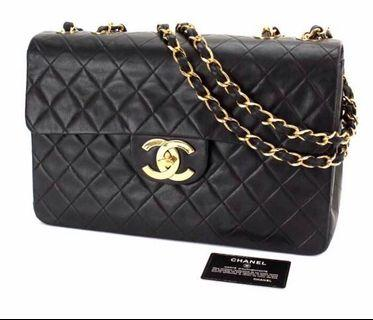 Chanel lamb skin XL JUMBO