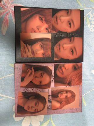 Kill this love photocards